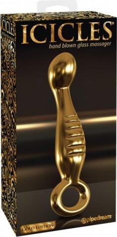 Фаллоимитатор G spot G04 золотой 17 см, фото 2