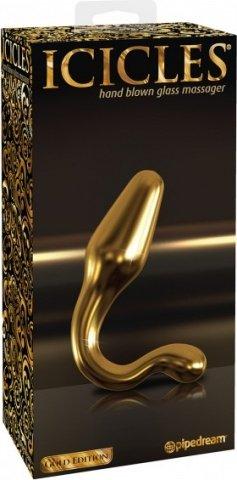 Анальная пробка G12 цвет золотой, фото 2