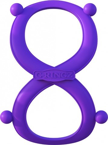 Эрекционное кольцо с фиксацией мошонки Infinity Ring, фото 4