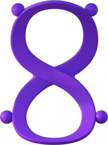 Эрекционное кольцо с фиксацией мошонки Infinity Ring, фото 6