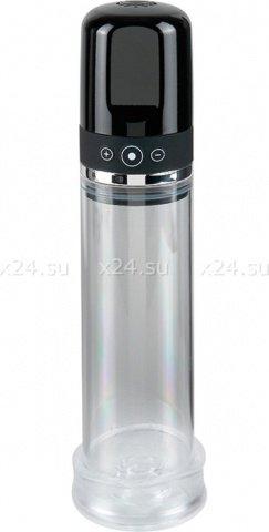 Перезаряжаемая автоматическая вакуумная помпа Rechargeable Auto-Vac Penis Pump (3 скорости)
