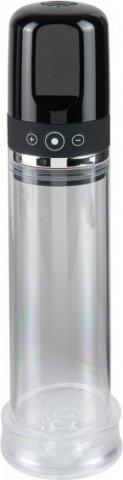 Перезаряжаемая автоматическая вакуумная помпа Rechargeable Auto-Vac Penis Pump (3 скорости), фото 4