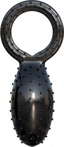 Эрекционное кольцо с вибратором для мошонки Buzz Bomb, фото 5