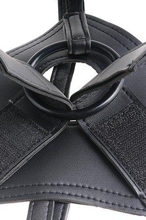 Страпон Harness со съемной насадкой на регулируемых ремнях King Cock 8 20 см, фото 6