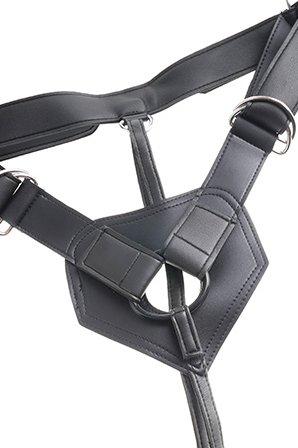 Страпон Harness со съемной насадкой на регулируемых ремнях King Cock 8 20 см, фото 5