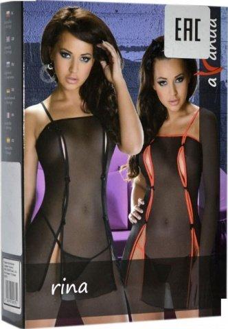 Платье Rina Black, черное, фото 2