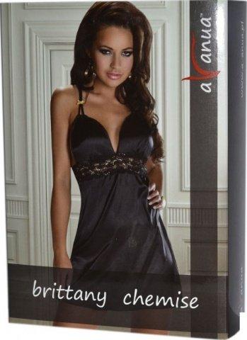 Платье Brittany, черное, фото 2