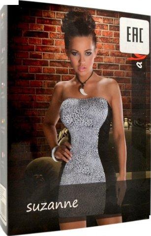 Платье Suzanne, снежный барс, фото 3