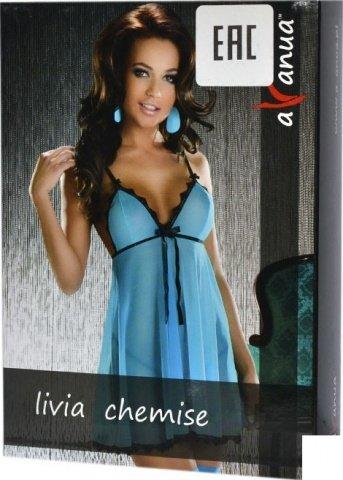 Платье Livia, голубое, фото 2