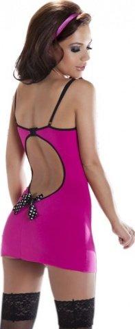 Платье Kimi, черно-розовое, фото 2
