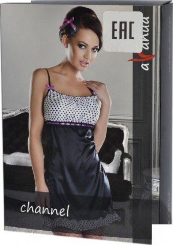 Платье Channel, черно-белое, фото 3