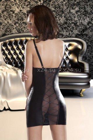 Платье etna с прозрачной спинкой и шнуровкой sm, фото 2