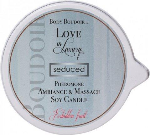 Массажная свеча с феромонами Body Boudoir запретный плод, фото 2
