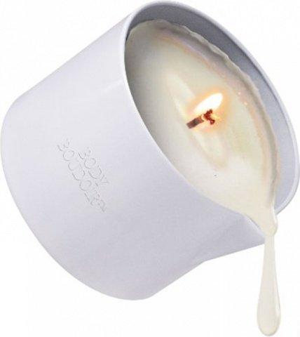 Массажная свеча с феромонами Body Boudoir черное кружево, фото 3