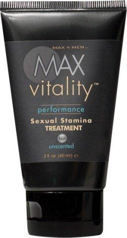 Крем для потенции Max Vitality на основе травяной виагры