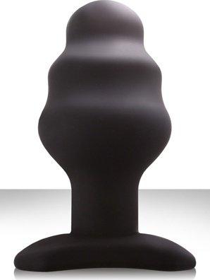 Анальная пробка renegade - plug 1 xl черная, фото 2