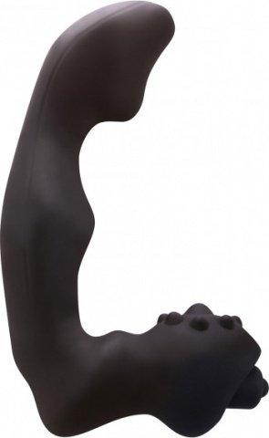 Анатомический вибро-стимулятор renegade vibrating massager малый черный