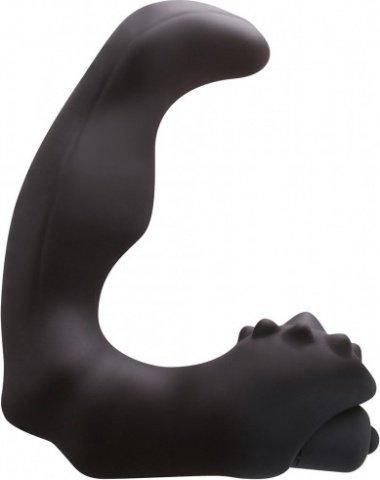 Анатомический вибро-стимулятор renegade vibrating massager большой черный