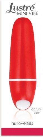 Мини-вибратор Lustre Mini Vibe, цвет Красный, фото 2