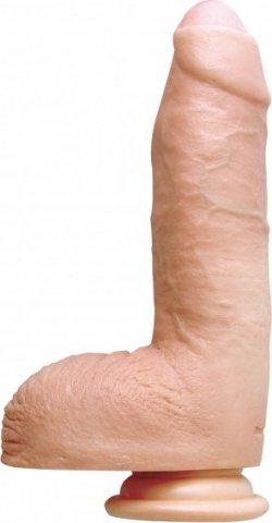Фаллоимитатор актера manuel ferrara 8 на присоске телесный 20 см