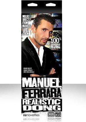 Фаллоимитатор актера manuel ferrara 8 на присоске телесный 20 см, фото 3