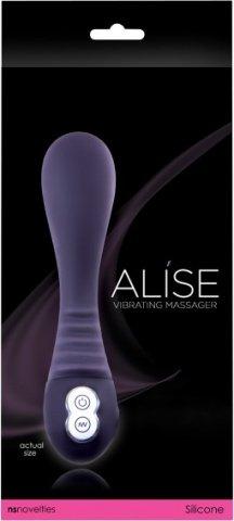 Вибромассажер Alise Rechargeable Massager, цвет Фиолетовый, фото 2