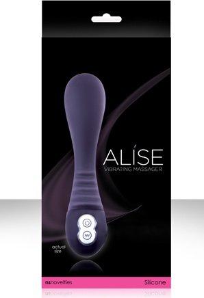 Вибромассажер Alise Rechargeable Massager, цвет Фиолетовый, фото 4