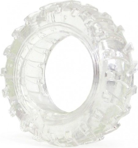 Эрекционное кольцо Treads Mens Ring Display Thin, цвет Прозрачный
