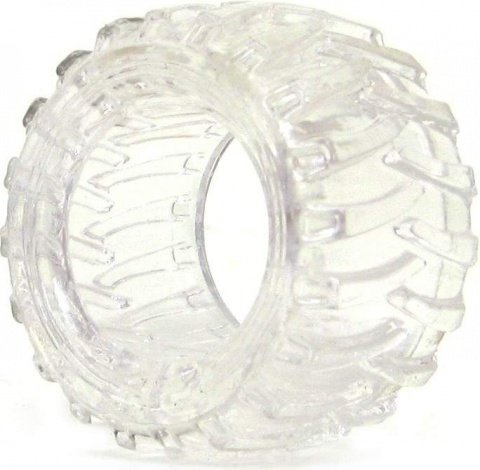 Эрекционное кольцо Treads Men's Ring Display Wide, цвет Прозрачный