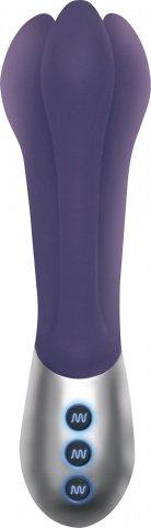 Вибромассажер Infinit перезаряжаемый фиолетовый