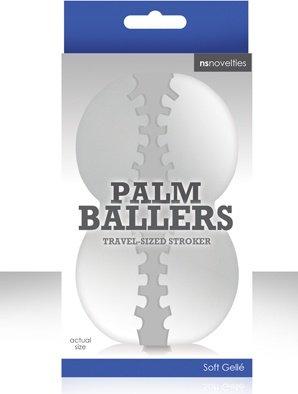 Мастурбатор фантазийный palm ballers прозрачный, фото 5