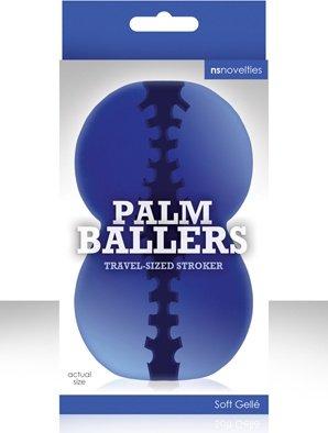 Мастурбатор фантазийный palm ballers синий, фото 4