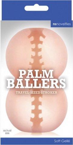 Мастурбатор Palm Ballers - White телесный, фото 2