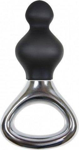 Маленькая анальная елочка из силикона Jolie Platinum Plug Small