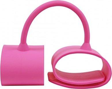 Наручники силиконовые Silicone Submissions Wrist Cuffs розовые