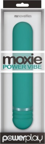 Вибромассажер Moxie Power Vibe - Seafoam бирюзовый, фото 2