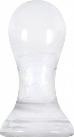 Анальный стимулятор Crystal Pops Large из стекла прозрачный