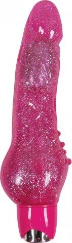 Вибромассажер Starlight Gems Aries Vibrating Massager розовый