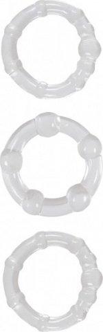 Набор эрекционных колец Intensity Rings прозрачные