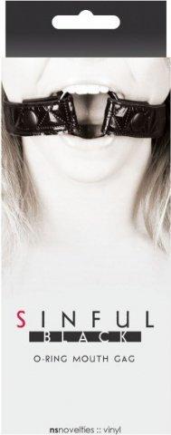 Расширитель для рта с пластиковым кольцом O-Ring Mouth Gag, фото 3