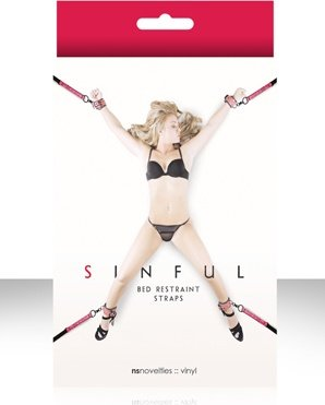 ��������� ��� ������� Sinful Bed Restraint Straps �������, ���� 3