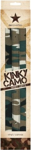 Манжеты на руки Kinky Camo камуфляж, фото 2