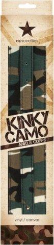 Манжеты на ноги Kinky Camo камуфляж, фото 2
