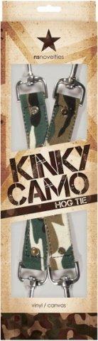 Крестообразное соединение Kinky Camo с карабинами камуфляж, фото 2