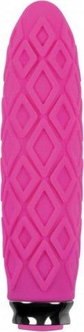 Вибромассажер Luxe Compact Vibe - Princess - Pink перезаряжаемый розовый