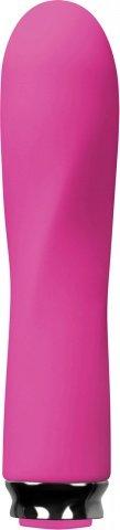 Вибромассажер Luxe Compact Vibe - Scarlet - Pink перезаряжаемый розовый