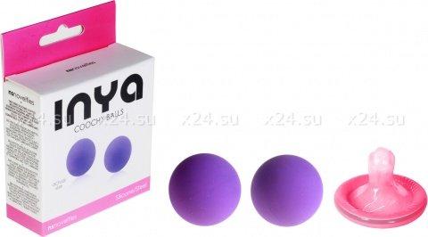 Стальные шарики в силиконовой оболочке Inya Coochy Balls, фото 2