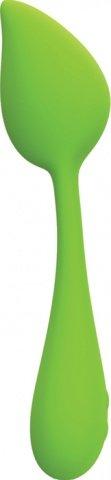 Перезаряжаемый вибромассажер bloom by leaf зеленый
