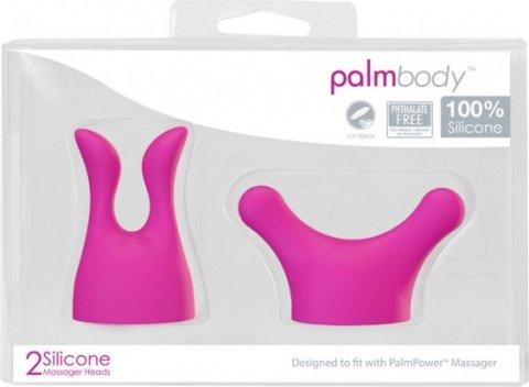 Набор насадок для массажера PalmPower Massager розовый, фото 2