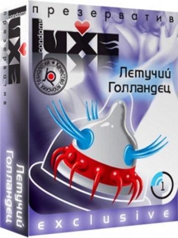 Luxe 1 презервативы летучий голландец, фото 2